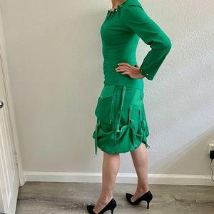 One & Only Women's Green Dress Shirt S IT38 US 4